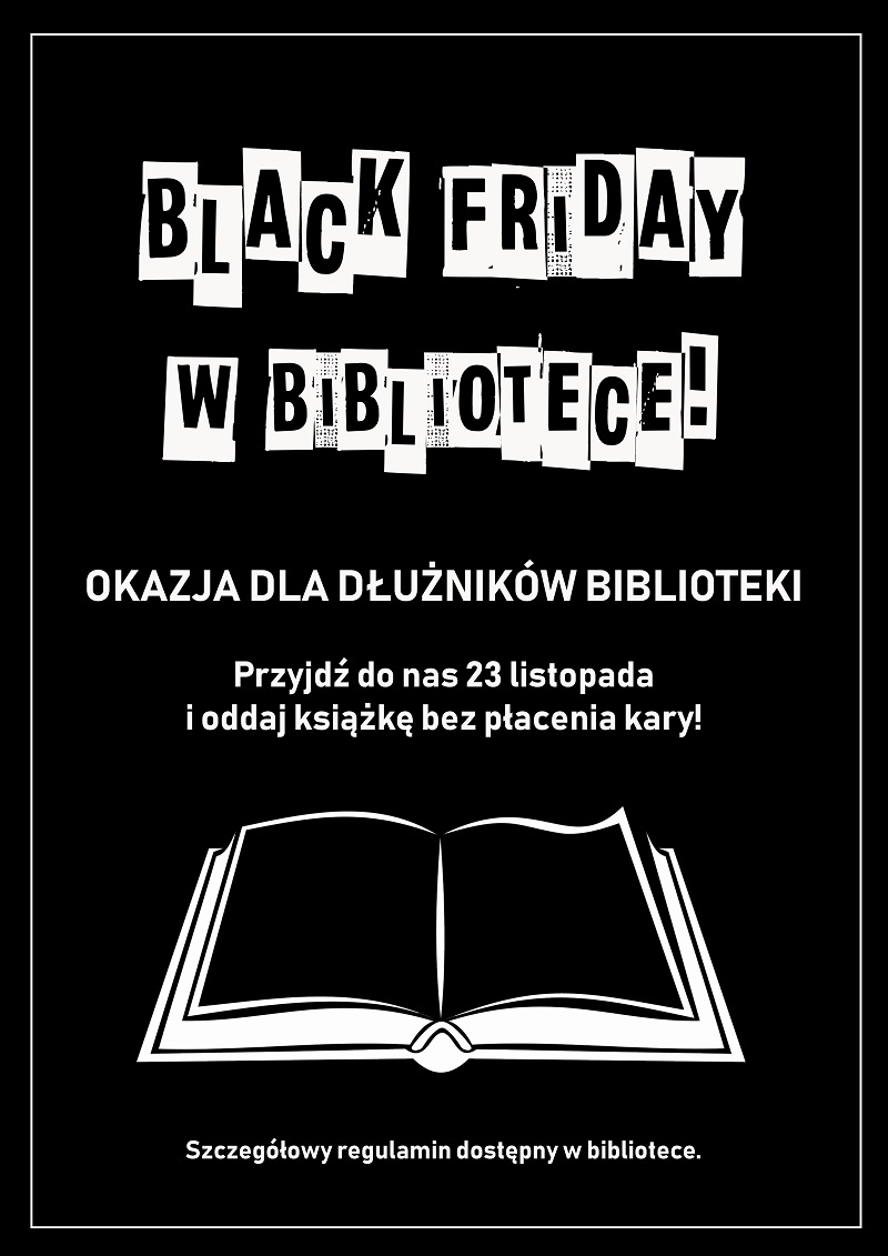 Black Friday w bibliotece!